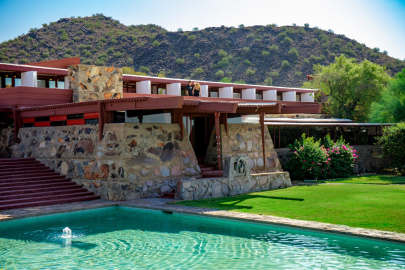 the work of frank lloyd wright in building taliesin west Today, taliesin west continues to serve as the vibrant home of both the frank  lloyd wright foundation and school of architecture at taliesin,.