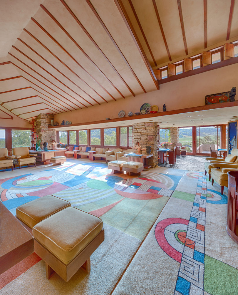 Getting Personal With Frank Lloyd Wright Taliesin And Taliesin West Design Milk