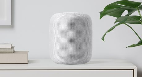 The HomePod, Apple's Siri-Enhanced Home Audio Speaker