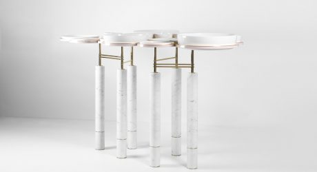 SAYAR&GARIBEH's Modern Spin on a Dining Table