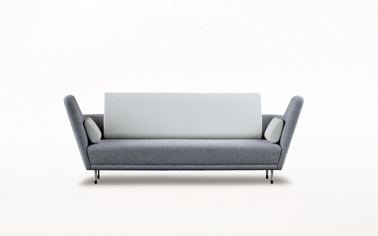 the 57 sofa by finn juhl for onecollection design milk. Black Bedroom Furniture Sets. Home Design Ideas