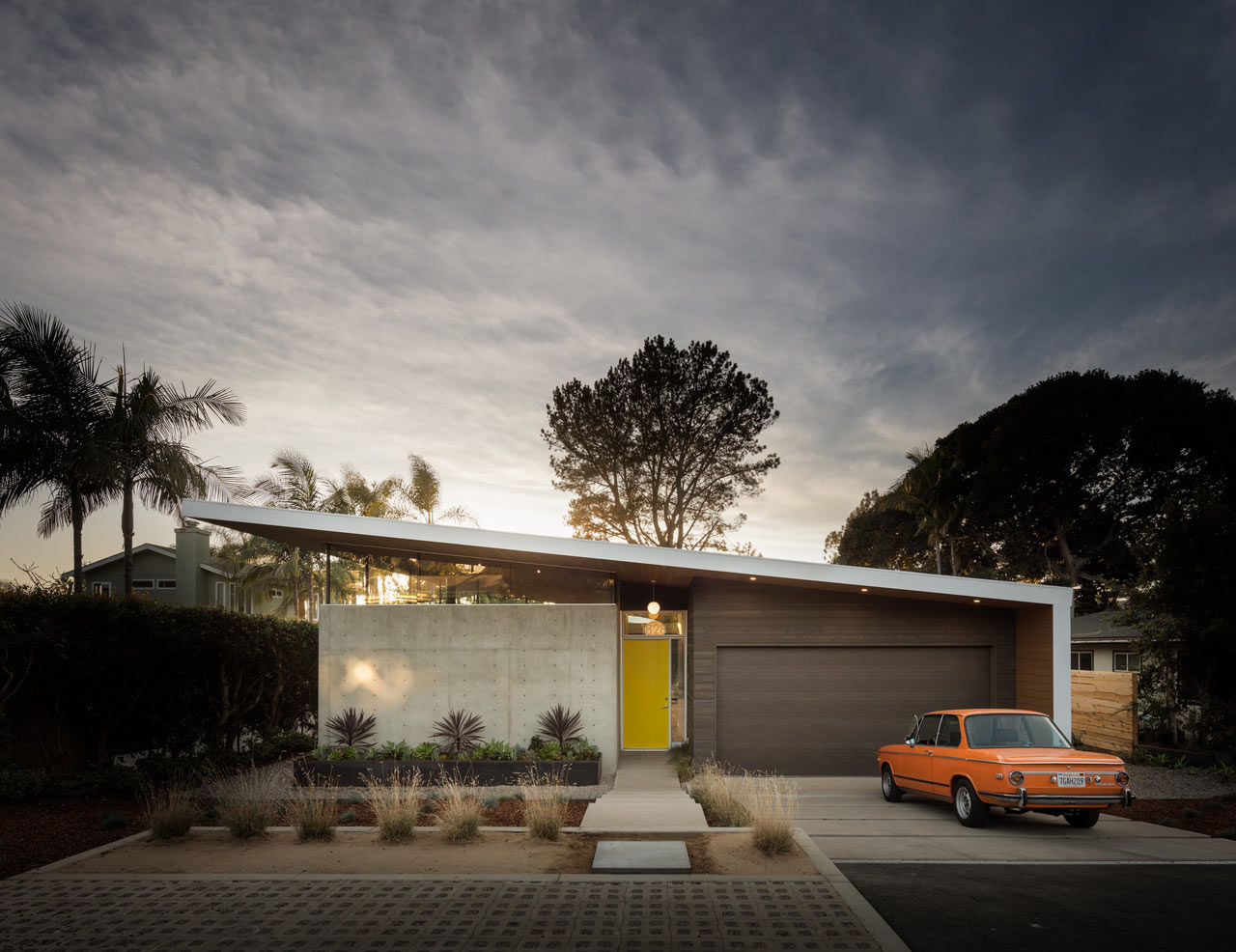"backReturn to ""A Sustainable House Inspired by Case Study Houses and Eichler"""