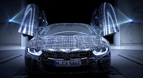 The BMW i8 Roadster Teases It's Taking Its Top Down