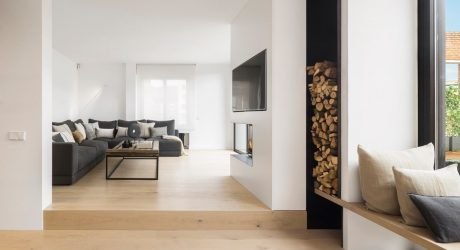 A Barcelona Penthouse Grounded in Natural Light and Black Accents