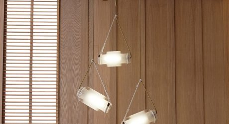 Lighting Inspired by Japanese Fishing Floats