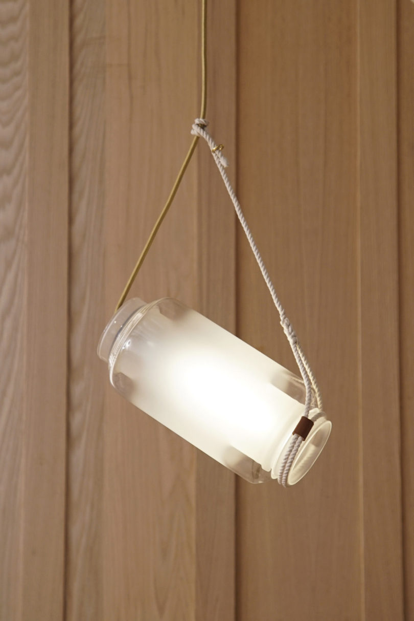 Float Lighting Inspired by Japanese Fishing Floats ...