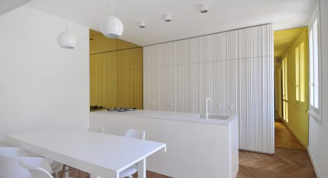 A Renovated Penthouse in the Center of Cesena, Italy