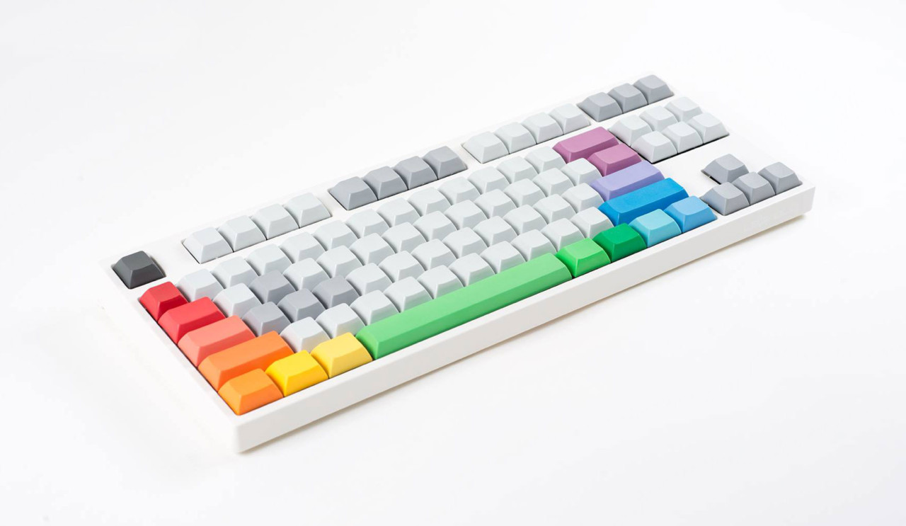 Clickety-Clackety, Colorful, and Customizable CandyKeys Keycap Sets