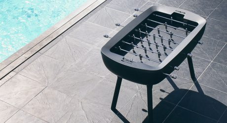 The Pure: A Modern, Outdoor Foosball Table by Alain Gilles