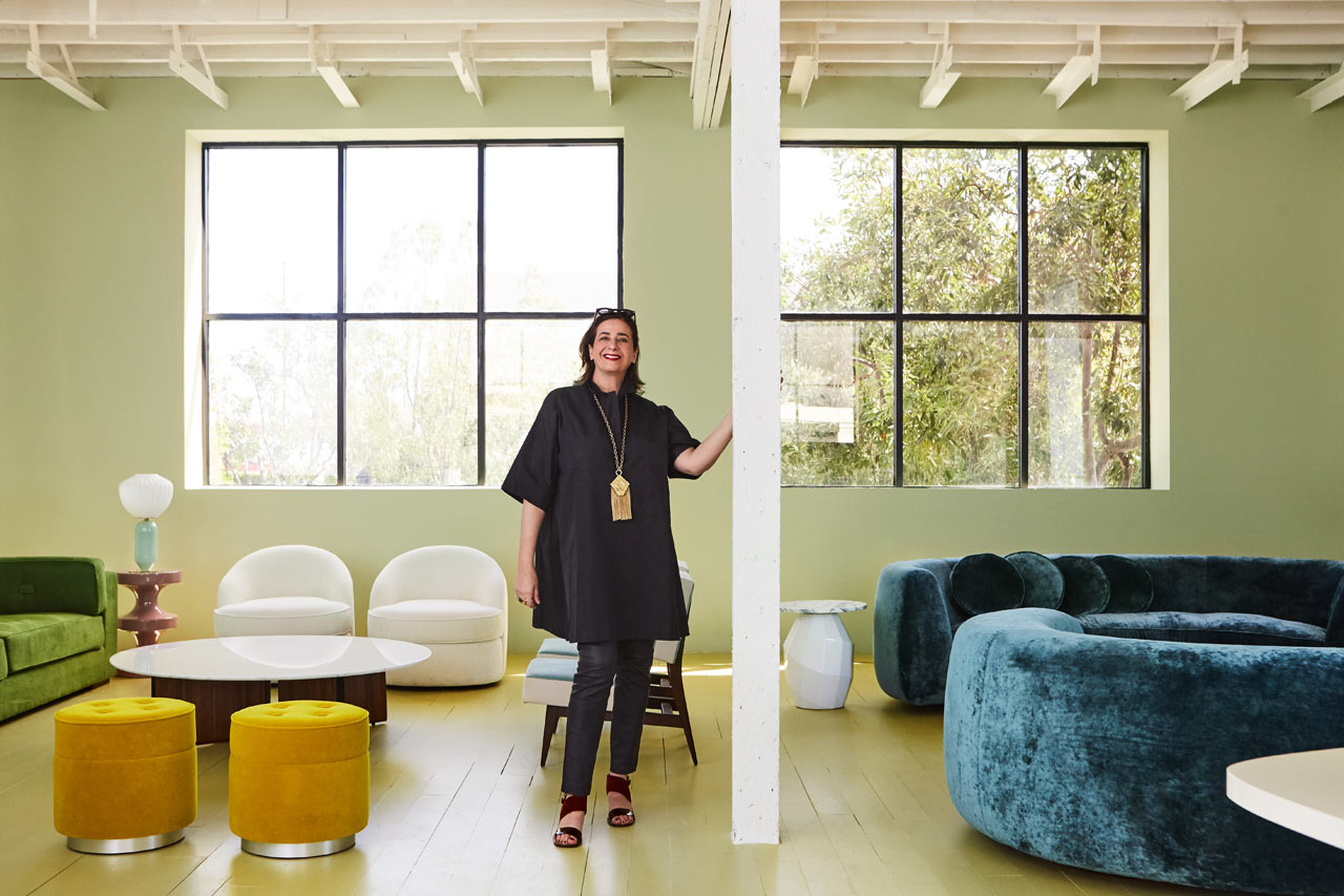 Friday five with india mahdavi design milk for India mahdavi furniture
