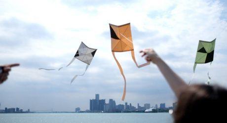 Kaku Dako: A DIY Paper and Bamboo Kite Kit by TAIT Design Co.