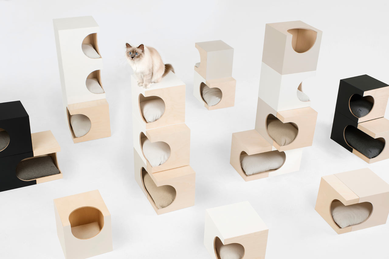 LUNARBOX: A Cat Home That Will Work with the Design of Your Home