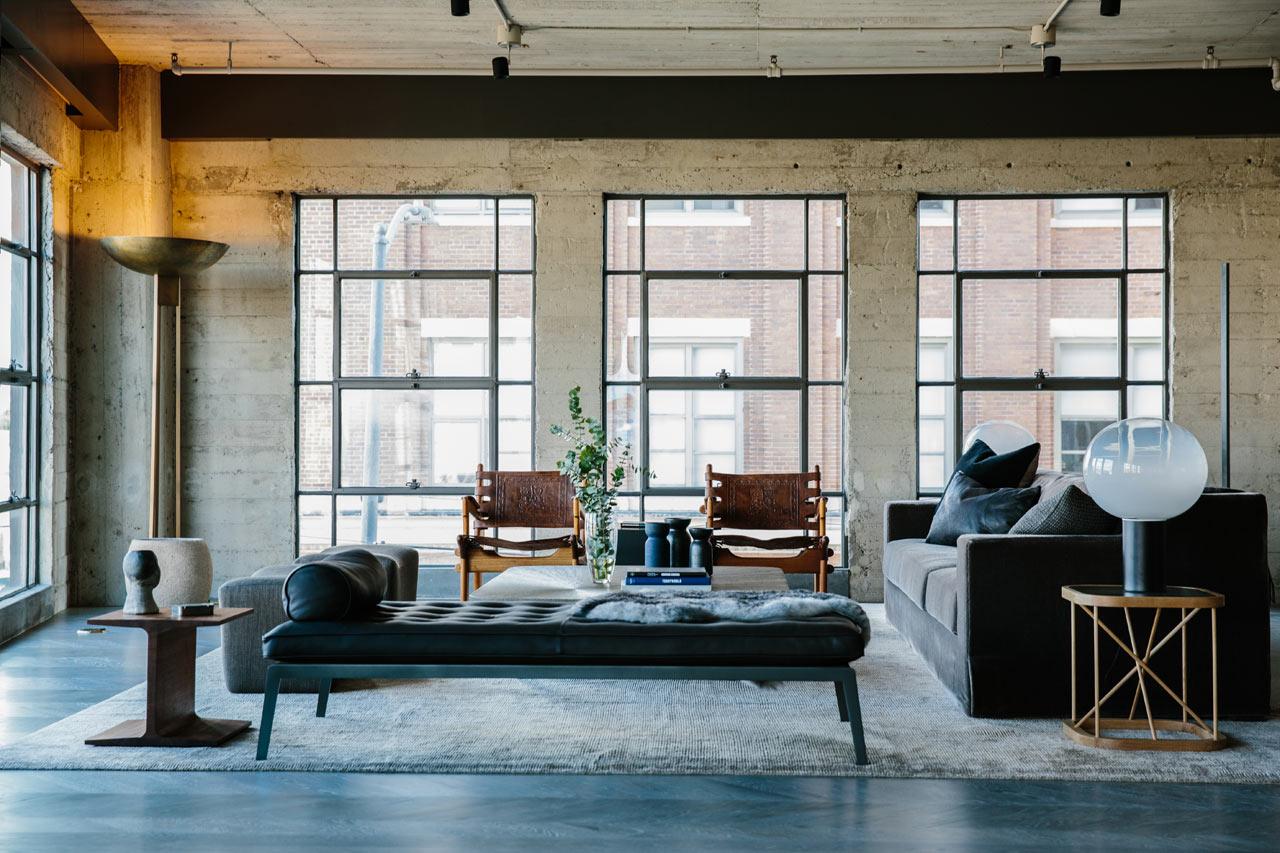Marmol Radziner Designs A Loft in Los Angeles' Arts District