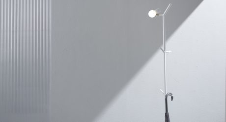 GYRO Introduces Myna: A Floor Lamp and Coat Rack in One