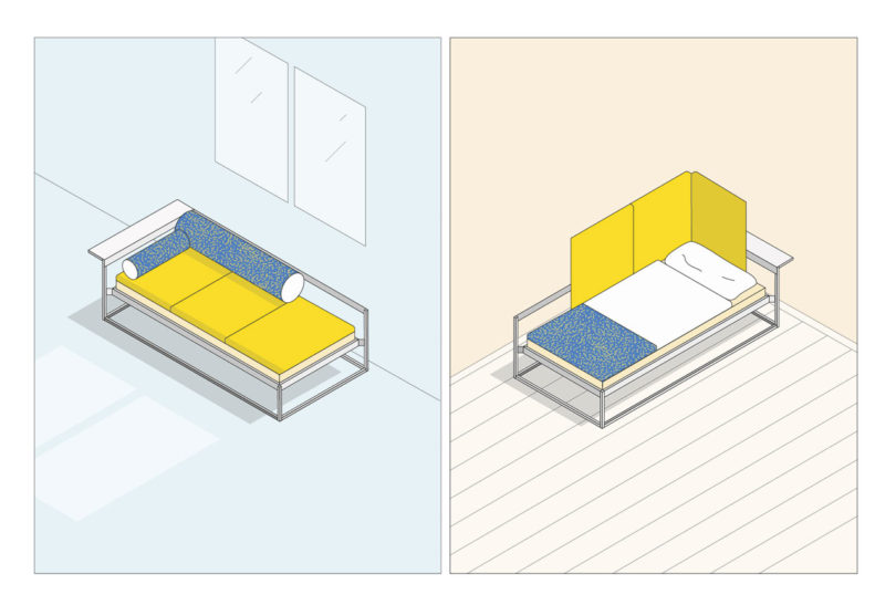 nook flexible space saving furniture for city living. Black Bedroom Furniture Sets. Home Design Ideas