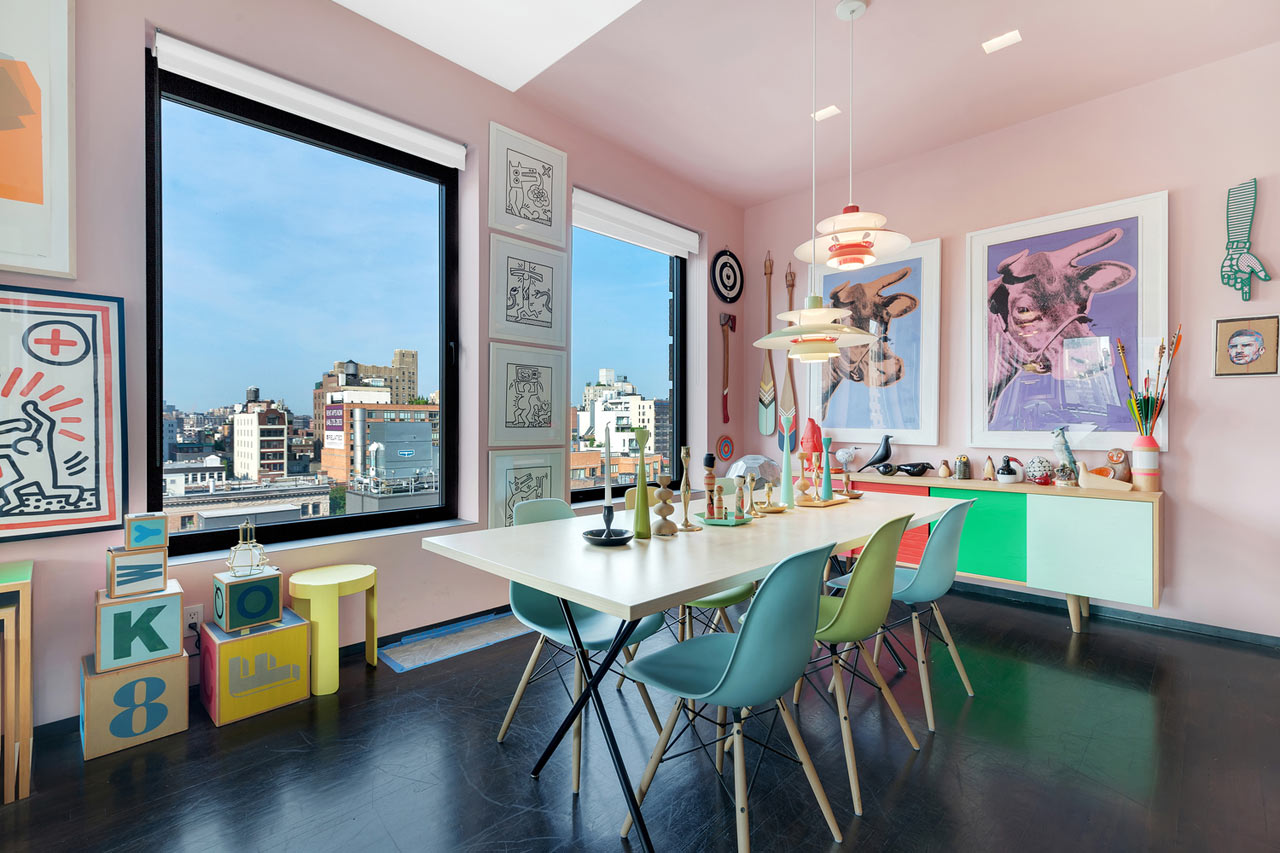 10 Modern Rooms with Vibrant Pops of Color - Design Milk