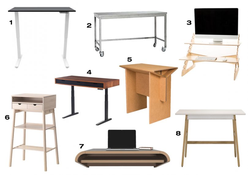 8 Standing Desks That Will Have You Ditching Your Chair