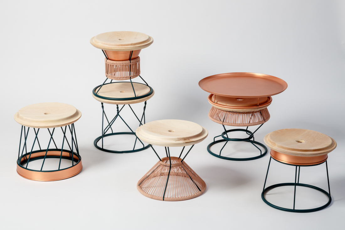 Yemenite: A Totem Made Of Stackable Seating