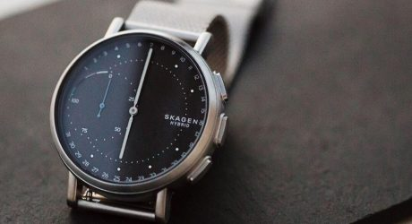 Skagen's Signatur Hybrid Smartwatch Dials In Connectivity