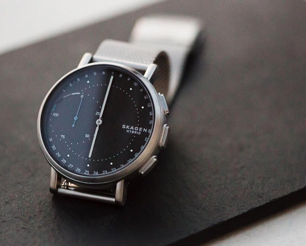 Skagen's Signatur Hybrid Smartwatch Dials In Connectivity ...