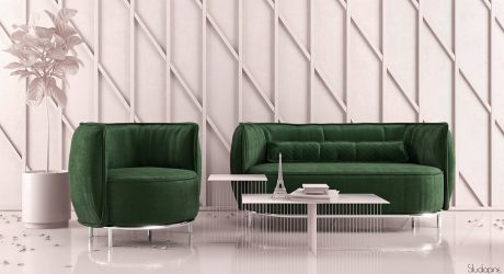 CAKE: Pastry-Inspired Sofas and Armchairs by StudioPINE