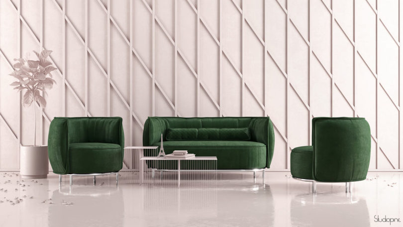 CAKE PastryInspired Sofas and Armchairs by StudioPINE