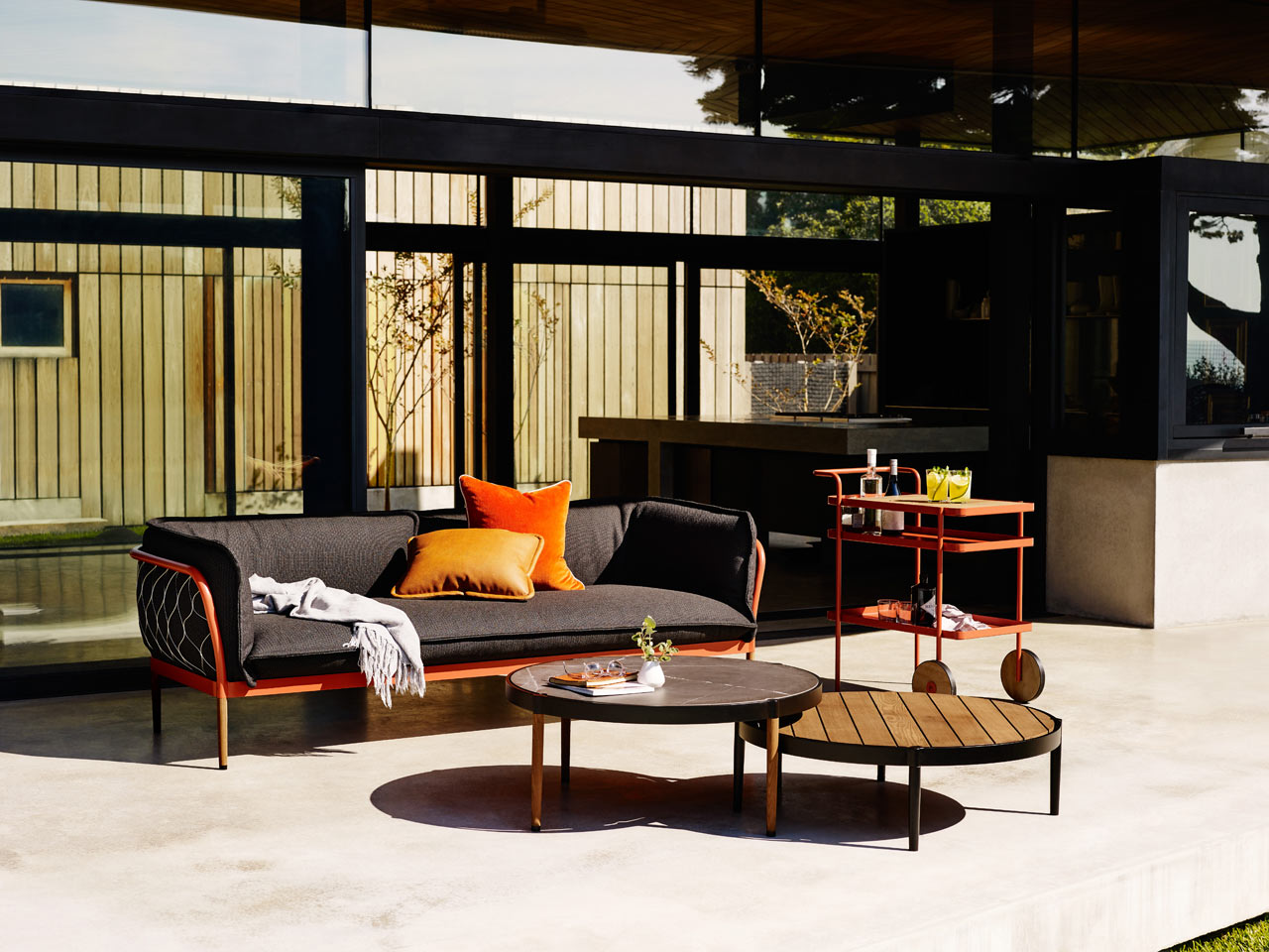 Trace: The Latest Outdoor Lounge Collection From Tait