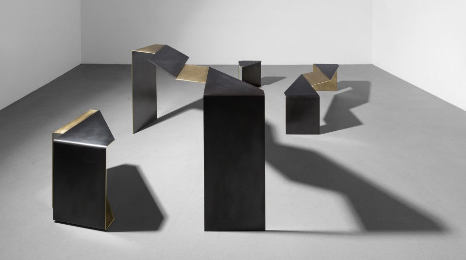 Uhuru's Fold Collection Inspired by Flattened Street Debris