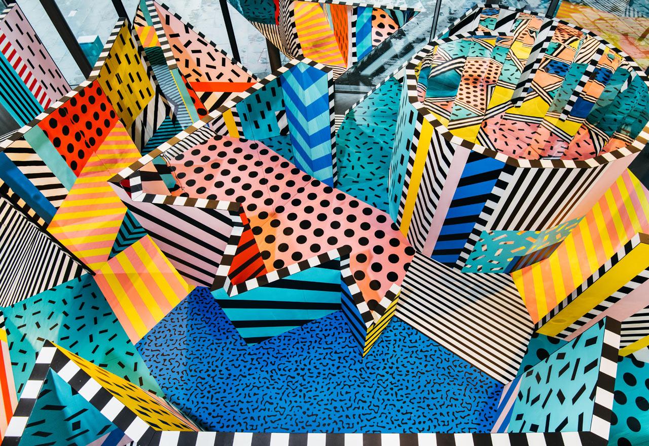 WALALA X PLAY: A Colorful, Interactive Installation by Camille Walala