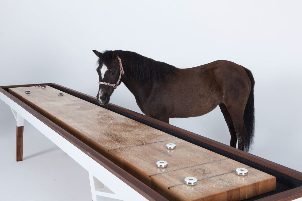 Sean Woolsey Launches the Woolsey Shuffleboard Table