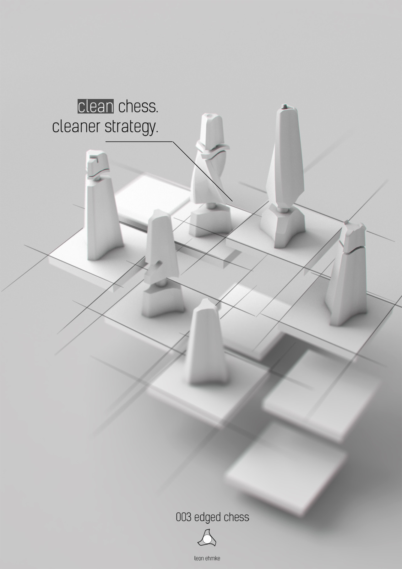 3D printed chess set custom chess pieces parametric design student discount student grant 3D printing education games tabletop games game pieces