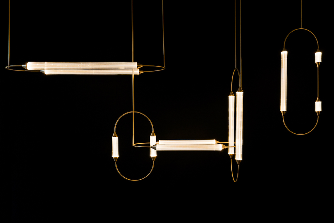 Sculptural Ornamental Lighting from Giopato & Coombes