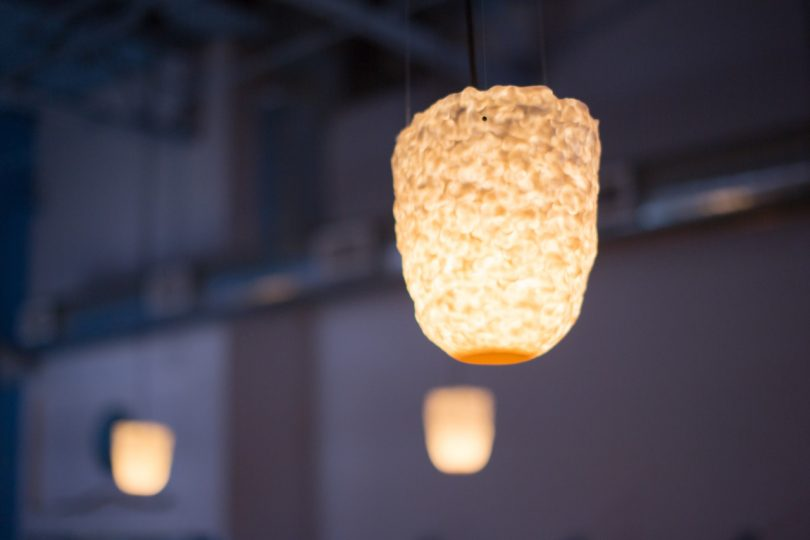 Porcelain Takes Center Stage for Gabriella Levy?s Light Fixtures