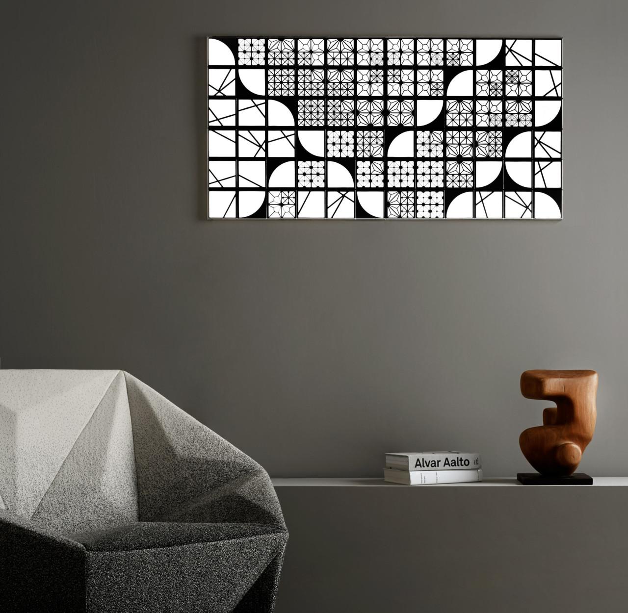 KUMIKO OLED Modular Lighting Turns Off Into a Mirror