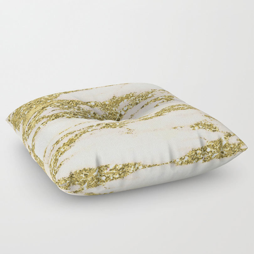 Light Pink Floor Pillows : Golden Favorites from Society6 - Design Milk