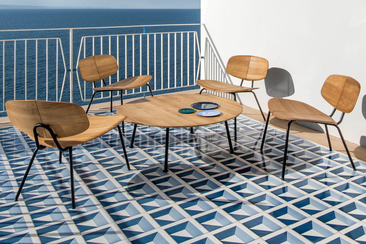 A Furniture Collection Inspired by the Leaf Shapes of the Agave Plant