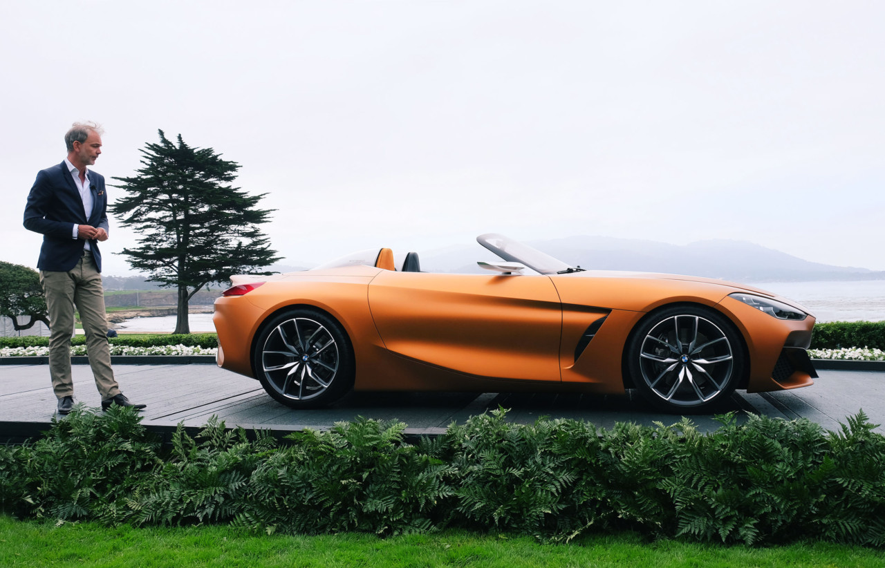 Bmw Rolls Into The 2017 Pebble Beach Concours D Elegance