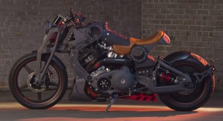 Confederate Motorcycles Unveils the R-Code Combat Bomber at The Quail
