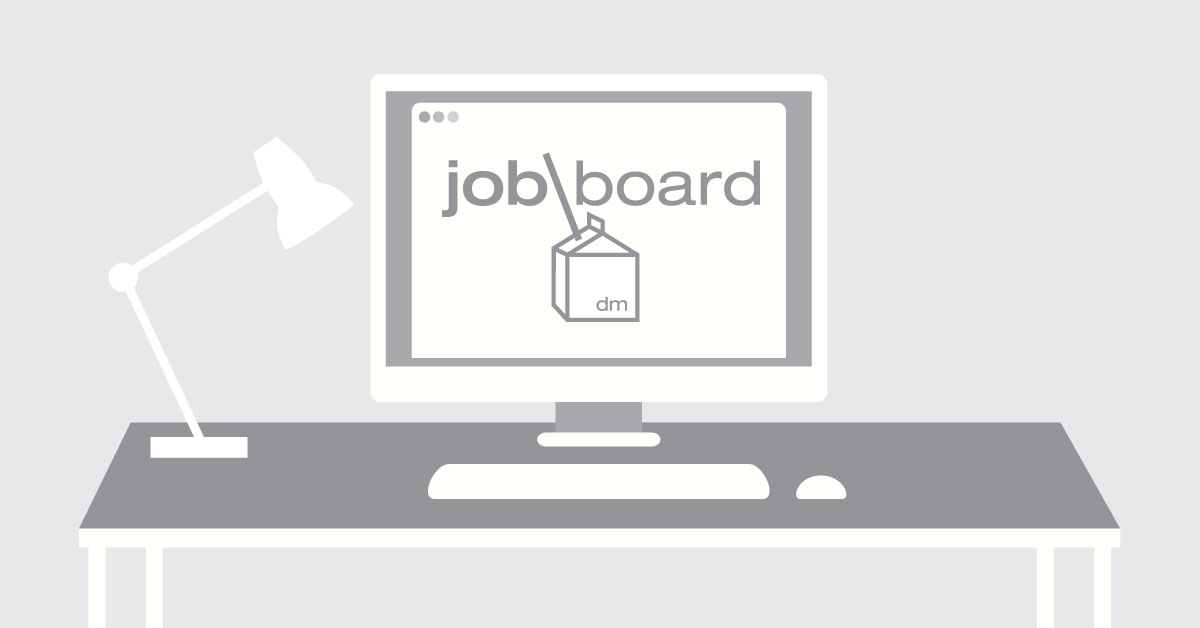 New Design Jobs on the Design Milk Job Board