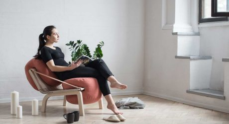 Dango: A Flexible Armchair by Agnieszka Kowal