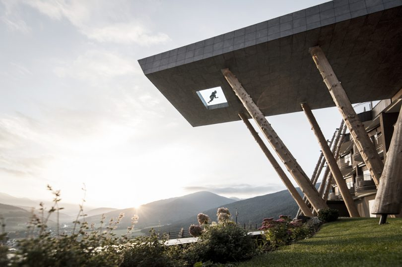 Float Between Heaven And Earth At The Hotel Hubertus