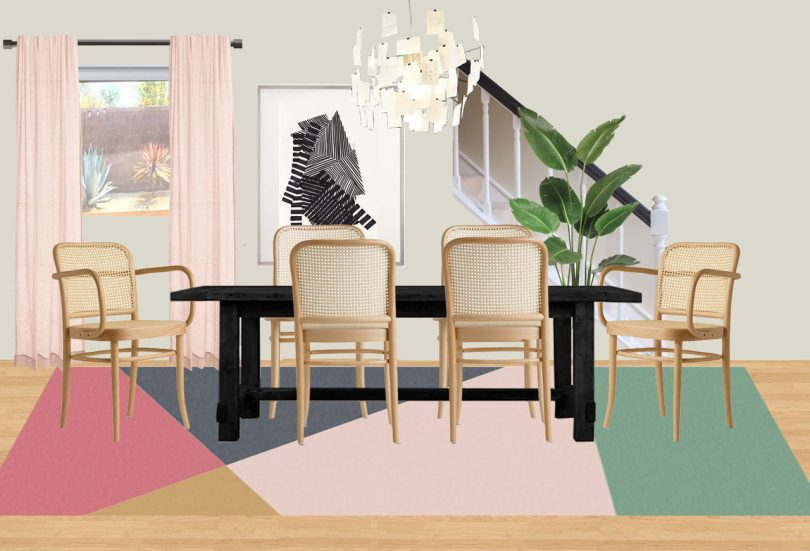 House Milk BEFORE: Living Space Redesign with Emily Henderson