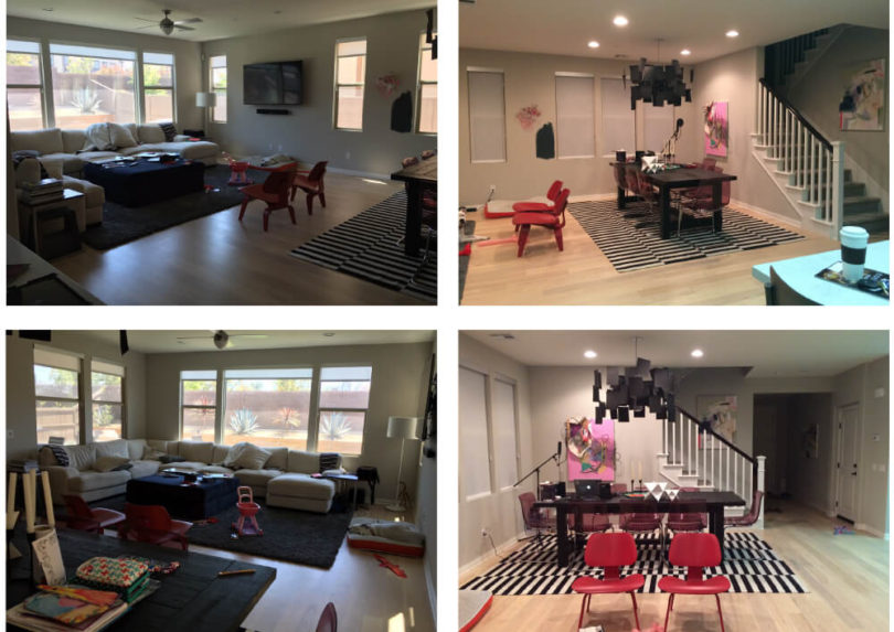 House Milk BEFORE & AFTER: Living Space Redesign by Emily ...