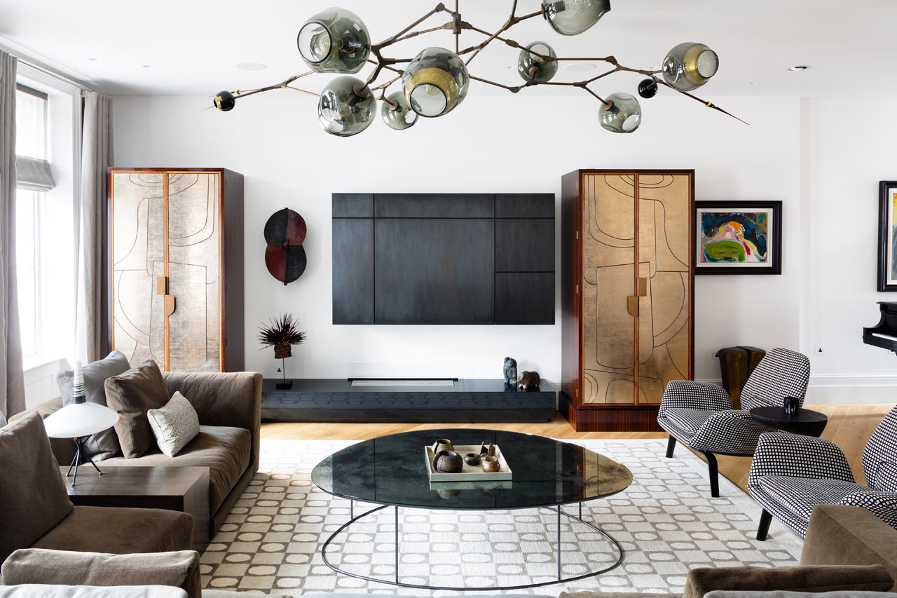 An Apartment in Notting Hill Remodeled by Louise Holt Design