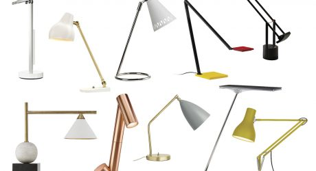A Bright Idea: 10 Modern Desk/Task Lamps