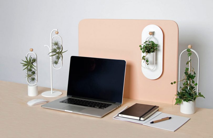 OASIS Indoor Office Planters with Moveable Magnetic Pots