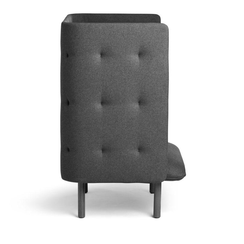 Fine Qt Privacy Lounge Chair From Poppin Design Milk Customarchery Wood Chair Design Ideas Customarcherynet