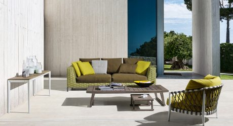 B&B Italia Expands Antonio Citterio's Ray Collection to Include Outdoor Furniture