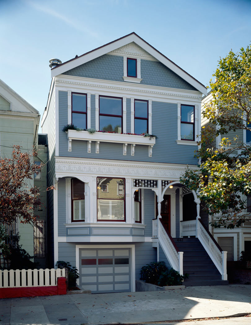 Modern Townhouse Townhouse Designs San Francisco: House Mullets: Traditional In The Front, Modern In The Back