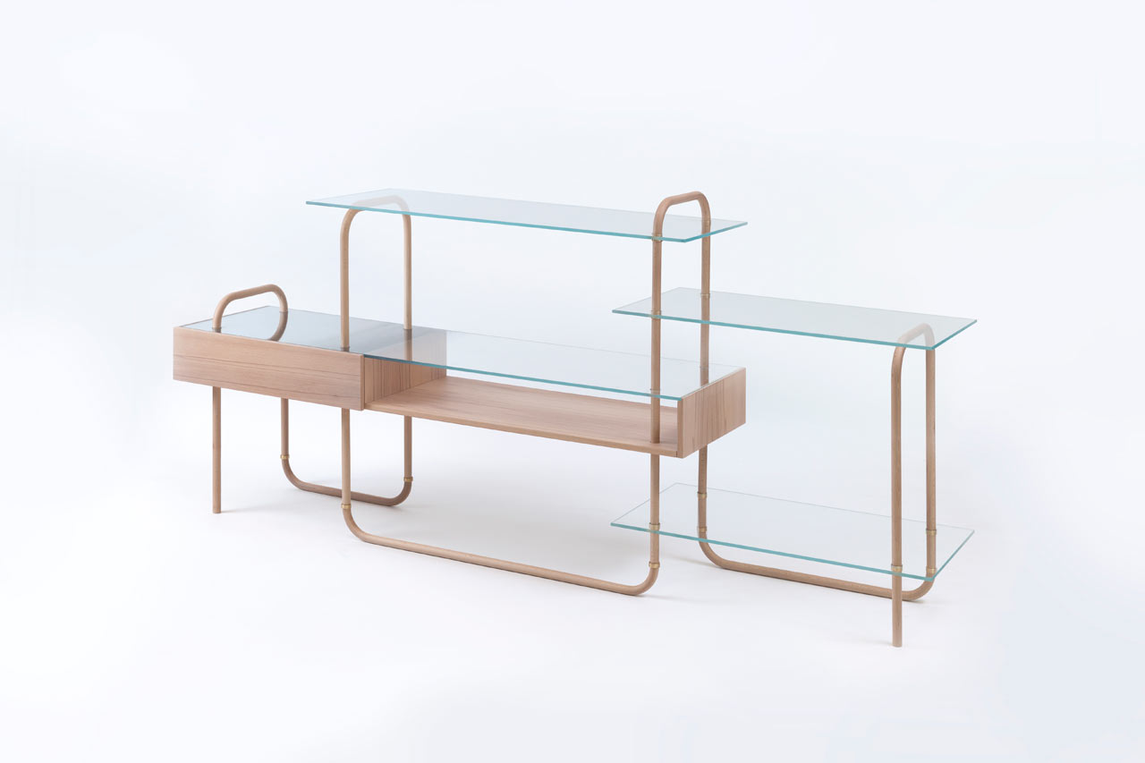 Giacomo Moor's Collection Vapore Explores Steam Bending Wood